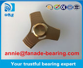 Tri-Spinner Fidgets Toys Zinc Alloy Hand Spinners Bearings 608 2017 New Design Office Toy Cheapest Price Zinc Alloy Hand