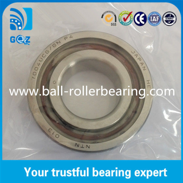 7004UCG Super Precision Bearing Chrome steel Material P5 / P4 12mm Height