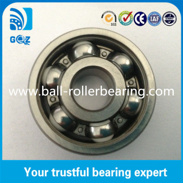 Chrome Steel Rings Ceramic Hybrid Ball Bearing 12mm Height Long Durability 6301