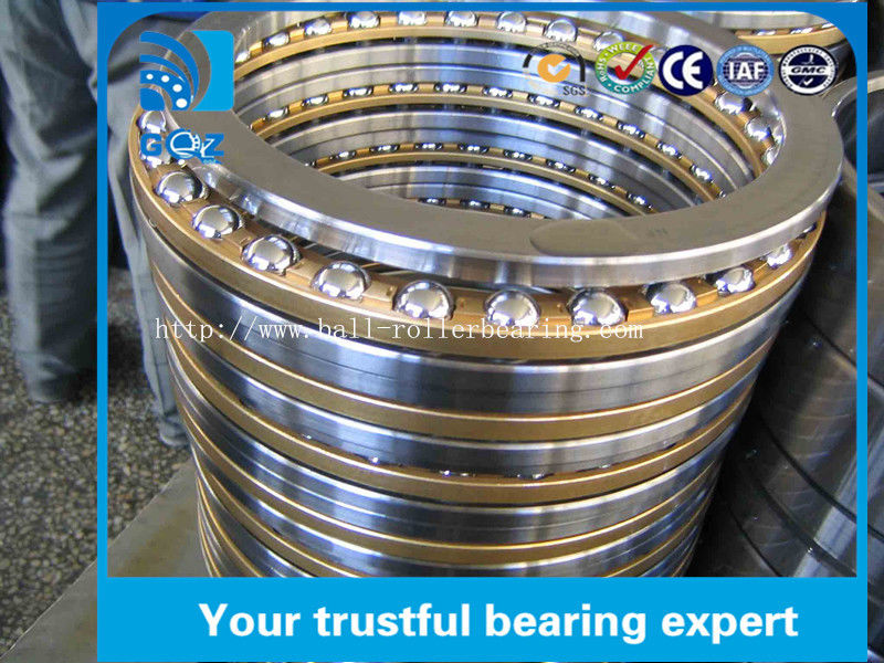 Open Shaft Washer Stainless Steel Thrust Ball Bearing 51110 Low Noise 50 X 70 X 31 mm