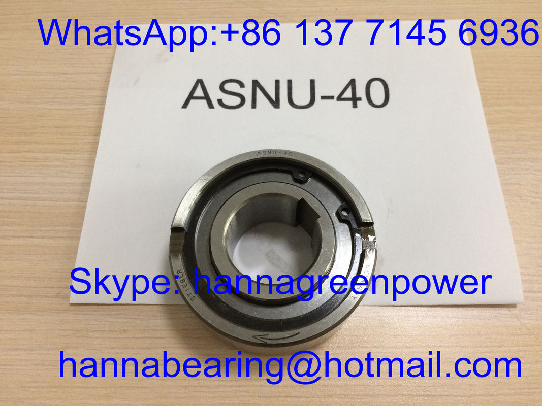 ASNU40 One Way Clutch Roller Bearing DSNU40 Freewheel Clutch Bearing 40 x 90 x 33 mm