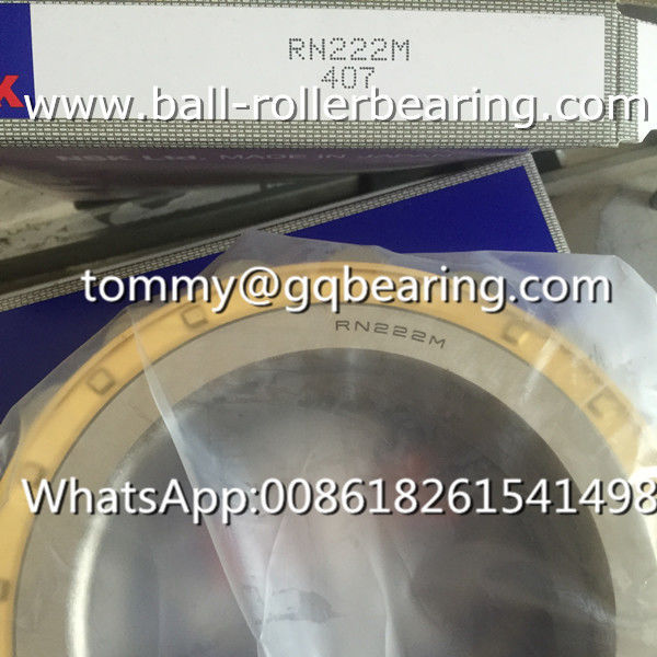 Brass Cage NSK RN222M Cylindrical Roller Bearing Chrome Steel Bearings