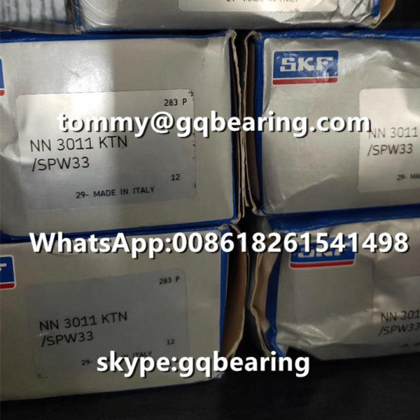 Gcr15 Steel Material SKF NN3011KTN/SPW33 Double-row Super Precision Cylindrical Roller Bearing