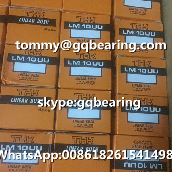High Precision Japan Origin THK LM10 LM10UU Rubber Sealed Linear Ball Bearing