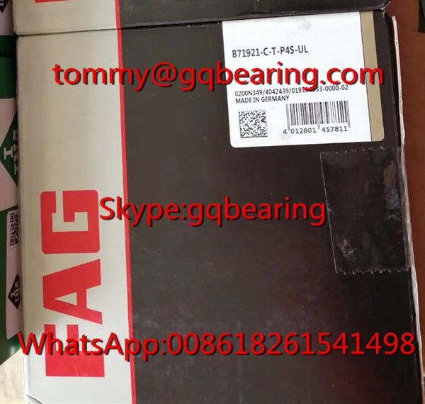 Germany Origin Universal Matching FAG B71921-C-T-P4S-UL Spindle Bearing
