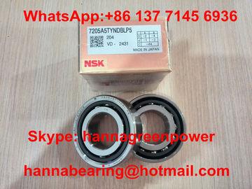 contatto angolare dei cuscinetti eccellenti di precisione di fila del doppio 7205A5TYNDBLP5 che sopporta 25x52x30mm